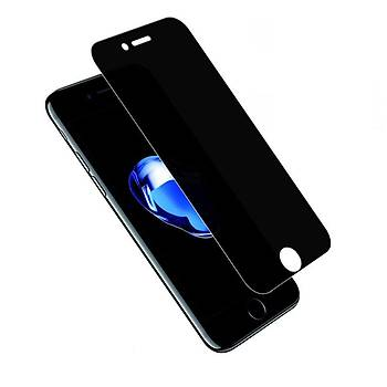 Piili Privacy Gizli Görünmez iPhone 7 Plus Ekran Koruyucu Cam