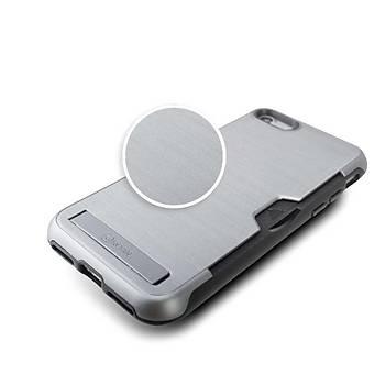 Roar Awesome Serisi Apple iPhone 7-8 Standlý+Kartlýklý Purple