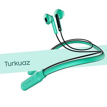 Baseus Encok Neck Hung Bluetooth Kulaklýk Turkuaz
