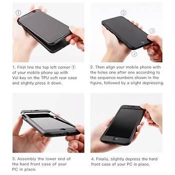 Baseus Fully Protection iPhone 7/8 360 Derece Tam Koruyucu Kýlýf