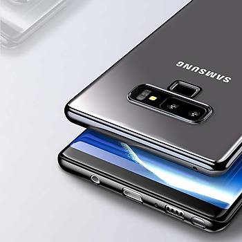 Benks Electroplating PC Serisi Galaxy Note 9 Kýlýf Blue