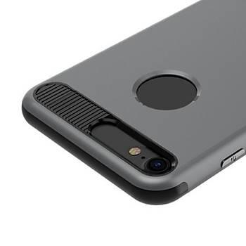 Baseus iBracket Serisi iPhone 7 / 8 Gizli Standlý Kýlýf Koyu Gri