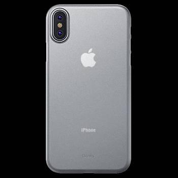 Benks Lollipop Protective Apple iPhone Xs 5.8 Kýlýf Transparan White