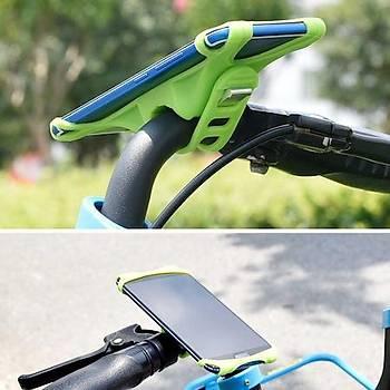 Zore Ergonomik Bisiklet Telefon Tutucu Turuncu