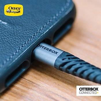 Otterbox Kopmaya Dayanýklý Usb Type A-C Kablo 2 Metre Siyah