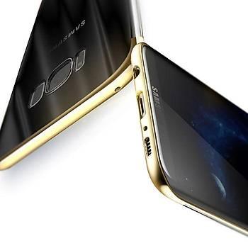 Baseus Samsung Galaxy S8 Plus Glitter Ultra Ýnce TPU Kýlýf Altýn