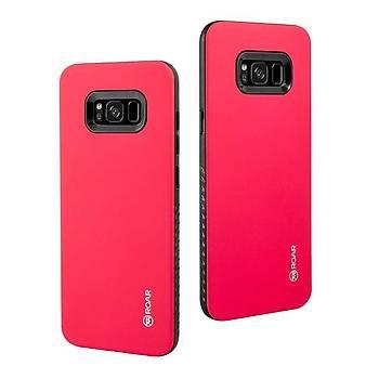 Roar Galaxy S8 Kýlýýf Rico Hybrid Case Pink