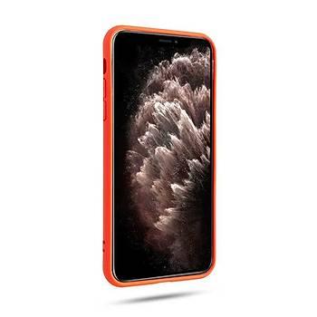 Roar All-Day Jelly Serisi Full Koruma iPhone 11 Pro Max Kýlýf Pruple