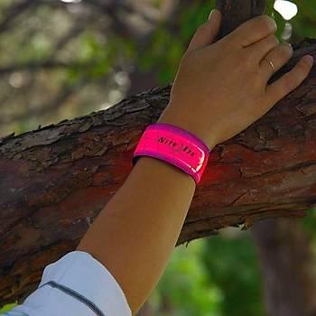 Nite Ize SlapLit LED Iþýklý Bileklik-Neon Pembe