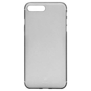 Baseus Slim Serisi iPhone 7 Plus / 8 Plus Transparan Kýlýf Gold