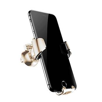 Baseus Gravity Serisi Evrensel Araç içi Telefon Tutucu Gold