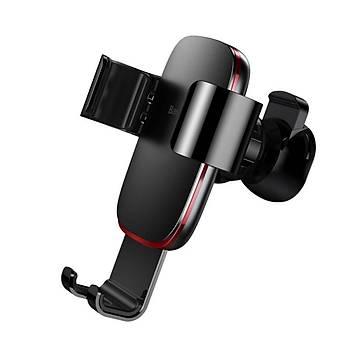 Baseus Metal Age Gravity Araç içi Havalandýrma Telefon Tutucu Siyah