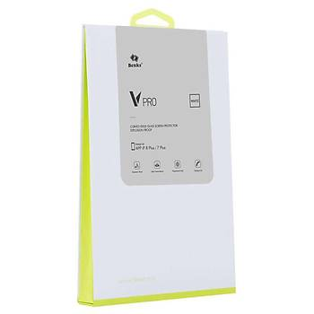 Benks VPRO Ýphone 7-8 Tamperli Ekran Koruyucu 0.3/White