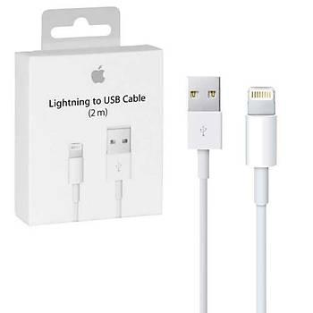 Apple Lightning (2m) USB Data ve Þarj Kablosu- MD819ZM/A