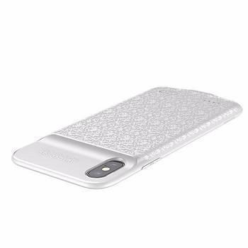 Baseus Plaid Backpack Power iPhone X/XS 5.8 3500 Mah Þarjlý Kýlýf
