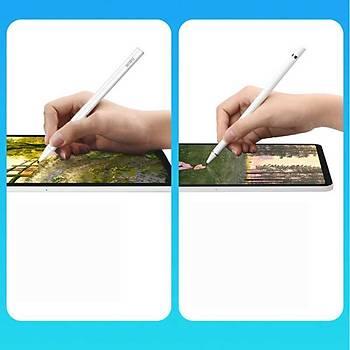 Wiwu Pencil Magic Stylus Dokunmatik Çizim Kalemi Beyaz