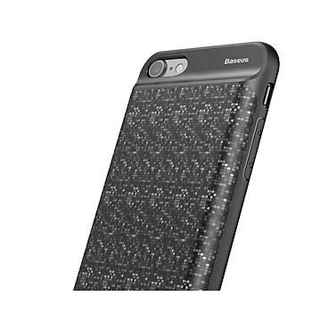 Baseus Plaid Serisi iPhone 6 Plus/6S Plus 3650Mah Þarjlý Kýlýf