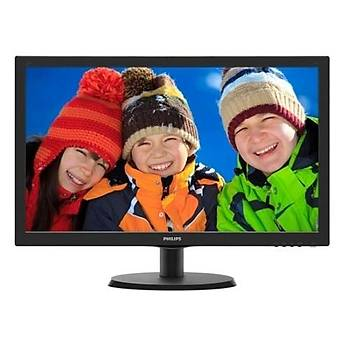 Philips 223V5Lsb2-62 5Ms LED Monitör Siyah