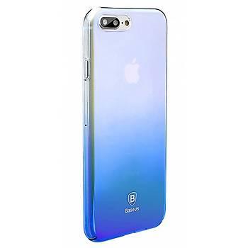 Baseus iPhone 7 / iPhone 8 Glaze Kýlýf Mavi