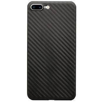 AntDesign iPhone 7 Plus / 8 Plus Karbon Desen Ultra Ýnce Kýlýf