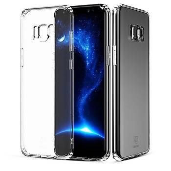 Baseus Samsung Galaxy S8 Simple Serisi Kýlýf Þeffaf