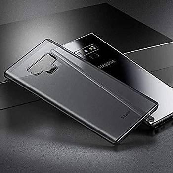 Baseus Wing Galaxy Note 9 Ultra Ýnce Kýlýf Transparan Siyah
