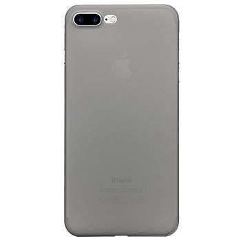 AntDesign iPhone 7 Plus / 8 Plus 0.3mm Ultra Ýnce Kýlýf Dark