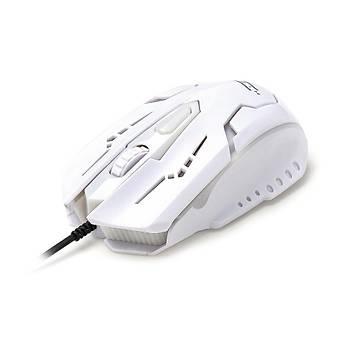 Hiper X-40B Gamýng Kablolu Mouse Beyaz