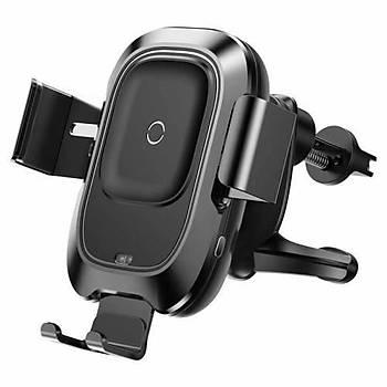 Baseus Smart Havalandýrma Telefon Tutucu Kablosuz Þarj Cihazý