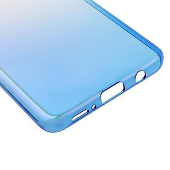 Baseus Glaze Samsung Galaxy S9 Ultra Slim Transparan Kýlýf Mavi