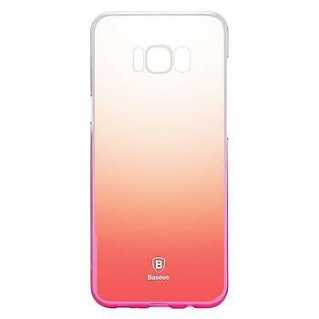 Baseus Samsung Galaxy S8 Plus Glaze Ultra Slim Kýlýf Pembe
