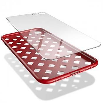 Baseus Paper Cut Serisi iPhone 7 Plus / 8 Plus Kýlýf Kýrmýzý