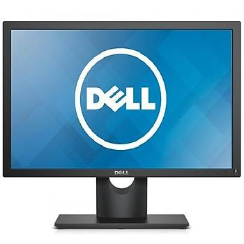 Dell E1916H Led 5Ms 200Nýts Vga/Dp Vesa LED Monitör Siyah