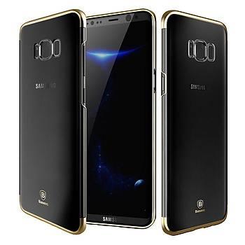 Baseus Samsung Galaxy S8 Glitter Ultra Ýnce TPU Kýlýf Altýn