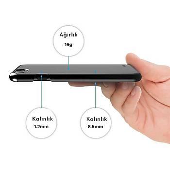 Elago iPhone 7 Plus / 8 Plus Slim Fit 2 Jean Indigo Kýlýf Beyaz