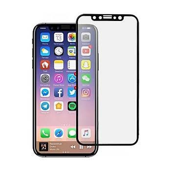 Zore Apple iPhone X/XS Çift Katmanlý Yüzüklü Tank Kýlýf Gri + Tam Kaplayan Nano Ekran Koruyucu