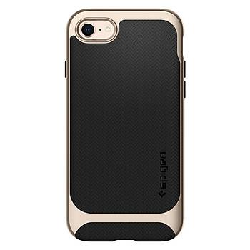 Spigen iPhone 7/8 Neo Hybrid Herringbone Serisi Kýlýf C. Gold