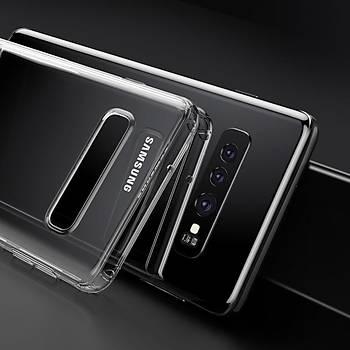 Baseus Shining Serisi Samsung Galaxy S10 Kýlýf Transparan