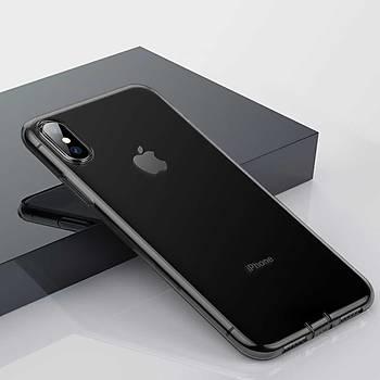 Baseus Simplicity iPhone X/XS 5.8 Soket Korumalý Transparan Kýlýf
