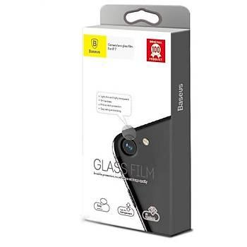 Baseus iPhone 7 / 8 0,2mm Kamera Lens Koruyucu Temperli Cam