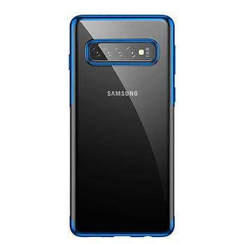 Baseus Shining Serisi Galaxy Kýlýf Blue