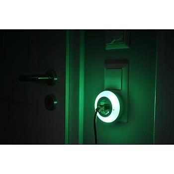 Brennenstuhl Priz Özellikli Sensörlü 3 Renk 6 Lm Gece Lambasý