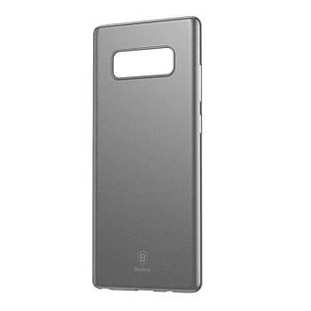 Baseus Samsung Galaxy Note 8 Wing Þeffaf Slikon Kýlýf Siyah