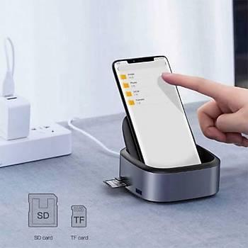 Baseus Mate Serisi Docking Type-C Mobile Phone Ýntelligent Hub Expanded Socket