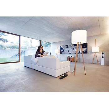 Brennenstuhl Premium-Line Uzatma Soketi 8 Soketli Priz Siyah 3m H05VV-F 3G1,5
