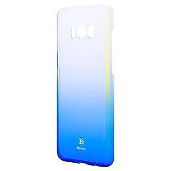 Baseus Samsung Galaxy S8 Glaze Ultra Slim Kýlýf Mavi