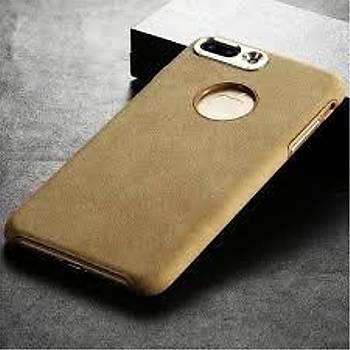 Baseus Genya Serisi Süet Kaplama Apple iPhone 7 Plus Kýlýf Gold