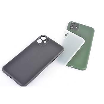 Zore Apple iPhone 11 PP Yumuþak Silikon Kýlýf Siyah