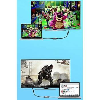 Wiwu Alpha Type-C to HDMI Dönüþtürücü Adaptör Gri