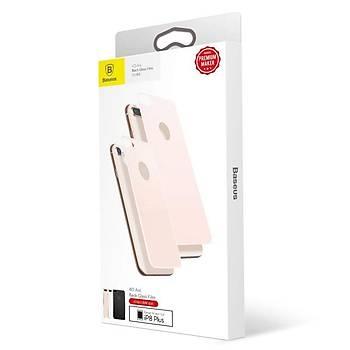 Baseus 4D Arc iPhone 7/8 Tam Kaplayan Arka Cam Koruyucu Gold